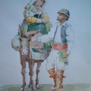 Murale amore contadino
