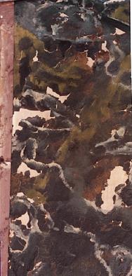 Cornice muraria - particolare